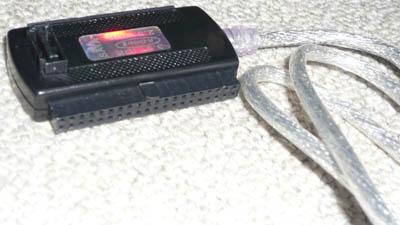 変換名人 USB-SATA/IDE オンサイトヘルプデスク7つ道具。 | 通販日記。
