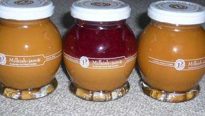 ミルキッシュジャム3種