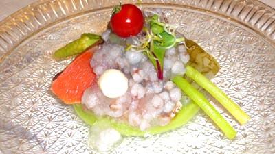 熱海 古屋旅館の食事2