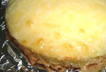 観音屋のデンマークチーズケーキ。