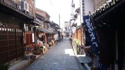 鞆の浦の古い町並み