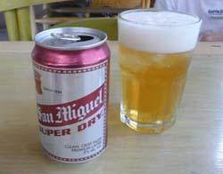 フィリピンのサンミゲル ビール