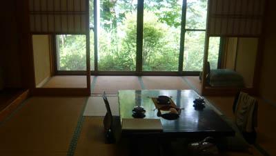 磐梯熱海 八景園 部屋の様子