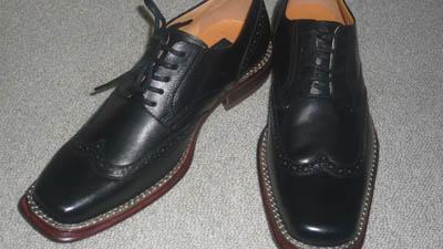 革靴 リョウコキクチ