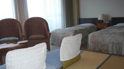 YUTORIAN修善寺ホテルの客室(ツイン)