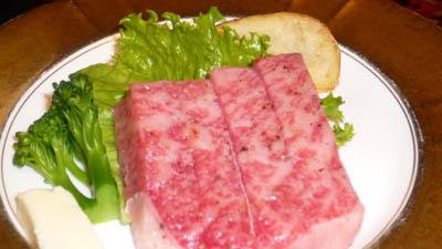 熱海 古屋旅館の食事1