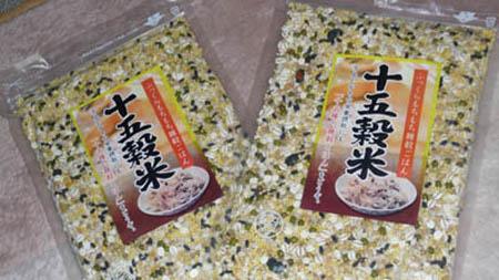 大地の恵み 15種類の穀物 十五穀米
