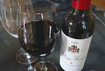 リーデル オヴァチュアで楽しむレバノンの赤ワイン「シャトー・ミュザール」