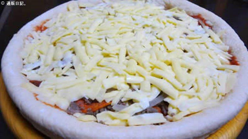 ピザ イン オキナワのピザ(調理前)