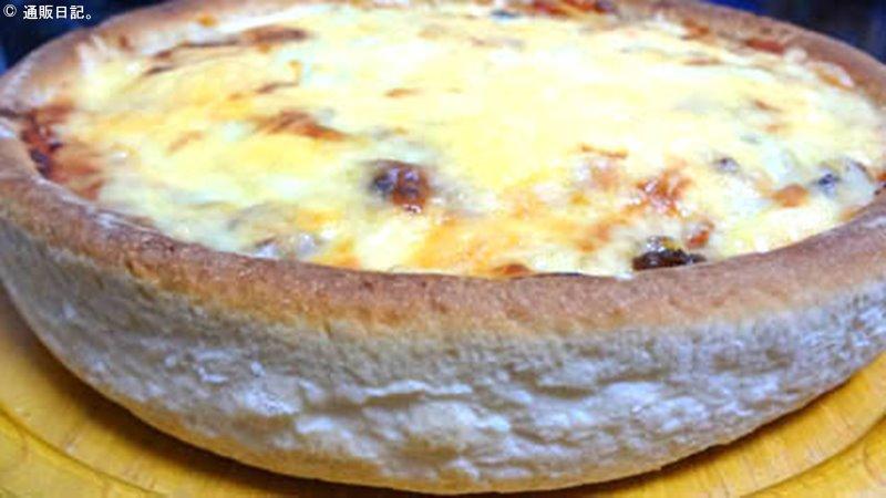 ピザ イン オキナワのピザ(調理後)