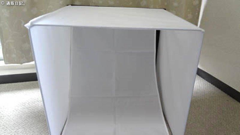 組立てみた撮影ボックス40