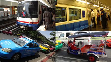 バンコクでの移動手段