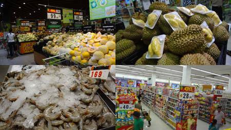 タイのスーパーマーケット