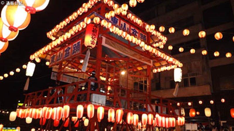 東山温泉 盆踊り大会