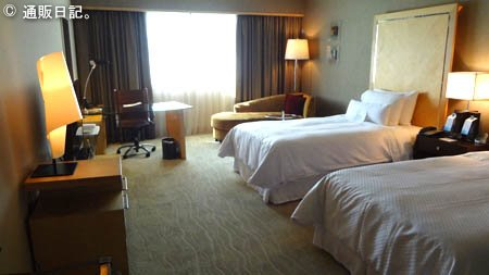 ウェスティン ホテルの客室