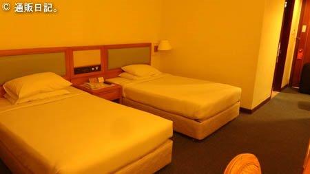 コプソーン オーキッド ホテル ペナン 室内の様子