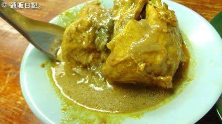 トルインディアで食べたカレー