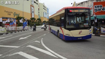 ペナンのバス