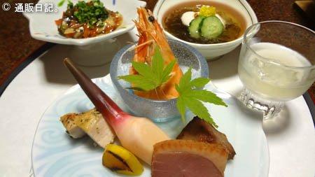 山田屋の夕食 前菜
