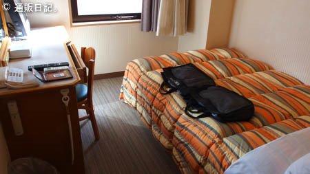 名古屋ビーズホテル セミダブルの部屋
