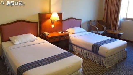 ヤンゴン パノラマホテル 客室