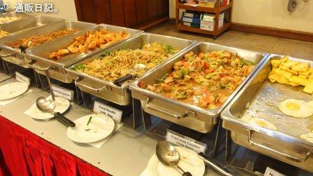 ヤンゴン パノラマホテル 朝食