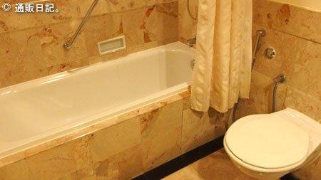 パークロイヤル クアラルンプール バスルーム