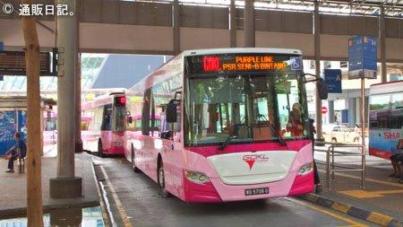 クアラルンプールの無料バス GOKL