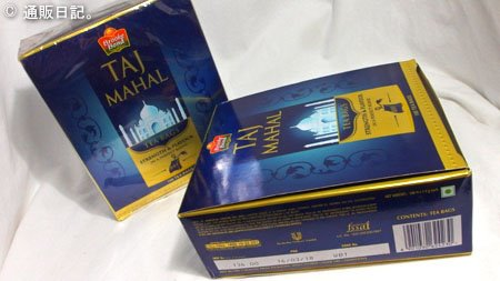 Taj Mahal Tea Bags(タージ・マハール・ティーバッグ)