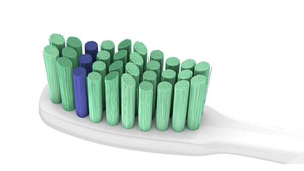 電動歯ブラシのブラシヘッド