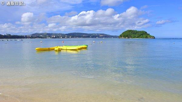 グアム オンワードビーチリゾート プライベートビーチ