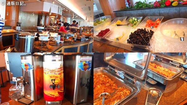 グアム オンワードビーチリゾートの朝食