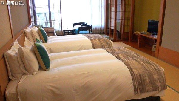 箱根湯の花プリンスホテル 最上階 スーペリアツイン