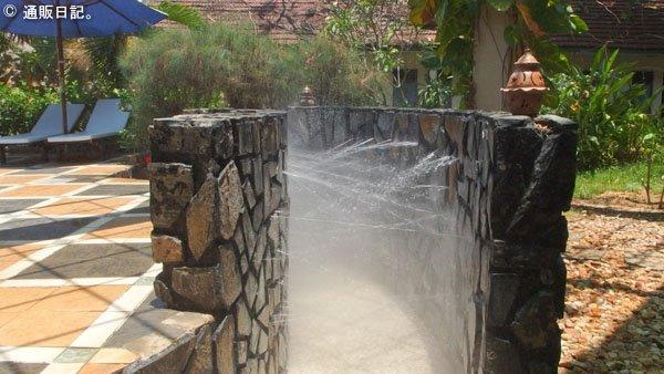 ニャチャン タップバー(泥温泉)まずはシャワー