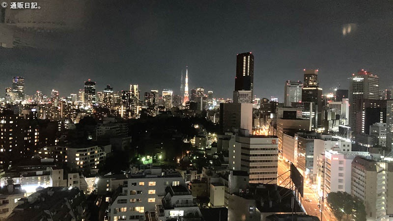 アパホテル 泉岳寺駅前 展望デッキ