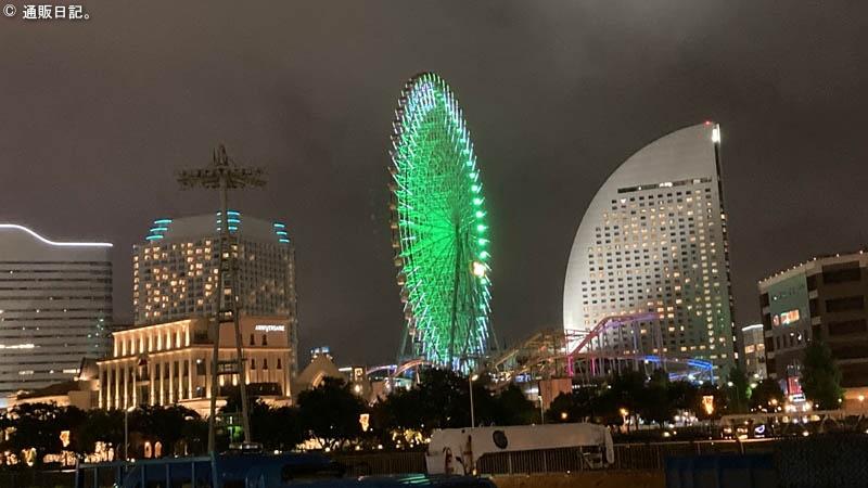 アパホテル&リゾート 横浜ベイタワー近辺の夜景