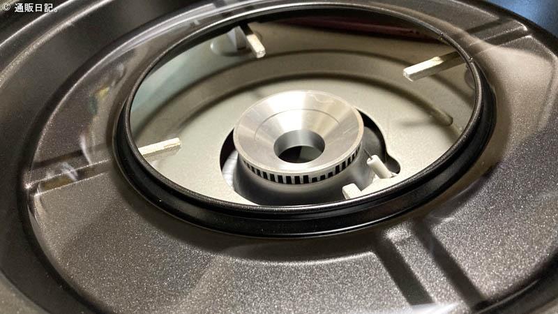イワタニ焼肉プレート 受け皿に水を入れる