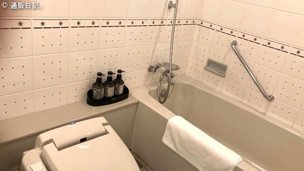 クインテッサホテル佐世保 バスルーム