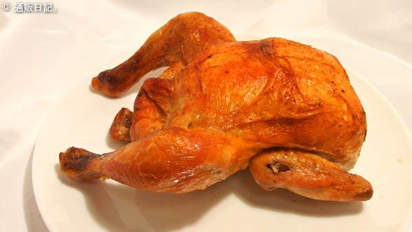 やんばる若鶏のローストチキン 調理例