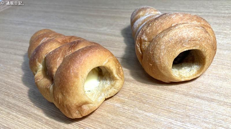 低糖工房 チョココロネ&クリームコロネ