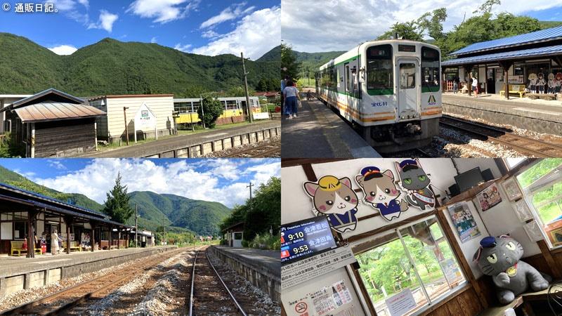会津鉄道会津線 芦ノ牧温泉駅