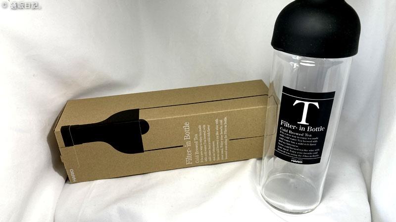 夏に水出しコーヒー&緑茶&紅茶を飲むのにハリオ(HARIO)フィルターインボトル 750mlが丁度良い!