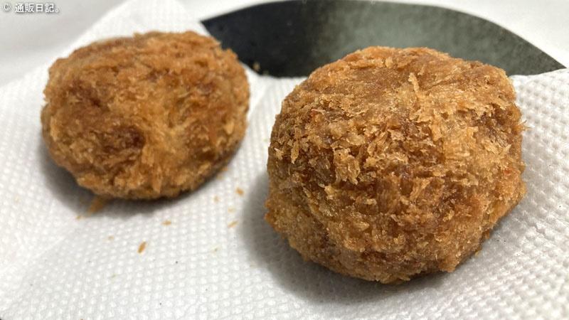 米沢牛専門店くろげ チーズメンチカツ 調理してみた