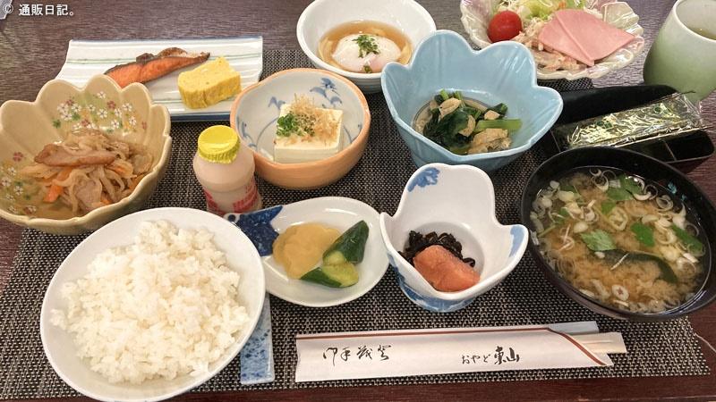 東山温泉 おやど東山 朝食