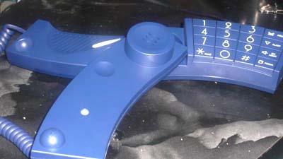 電源不要 の電話機(シンプル is 計画停電対応)