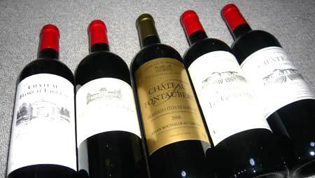 ボルドーワイン5本セット(タカムラのワインセット)