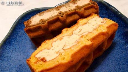 R.L(エール・エル)の 神戸ワッフル・ケーキ 意外性はなくとも安定の味・品質。