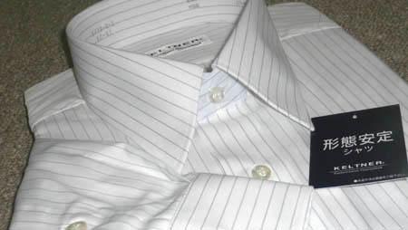 形状安定ワイシャツ
