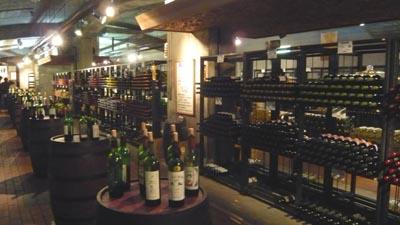 山梨ワインランキング in ぶどうの丘ワインカーヴ。