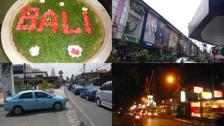 バリ市街地